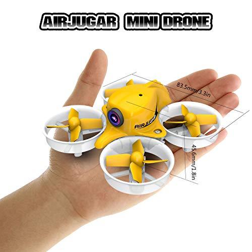 AIRJUGAR Mini FPV Drone
