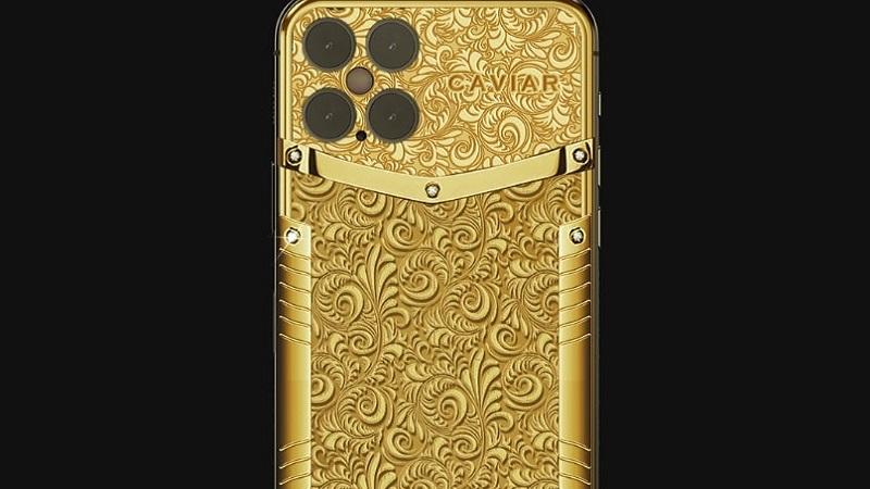 Caviar iPhone 12 Pro Or pur
