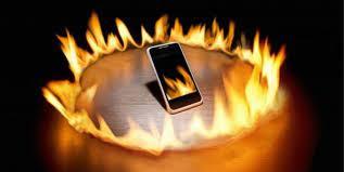 smartphone en surchauffe