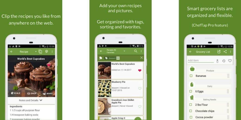 10 meilleures applications pour apprendre la cuisine sur Android !