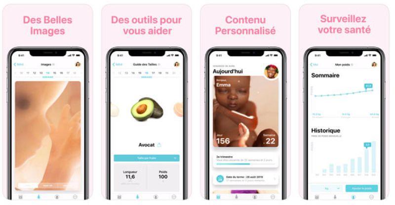 Les 12 meilleures applications de grossesse pour les futurs parents pour iOS et Android