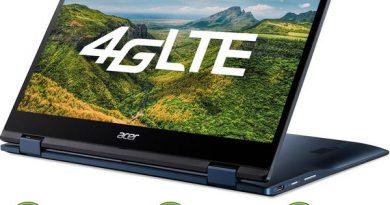 Acer Chromebook Spin 513 avec LTE