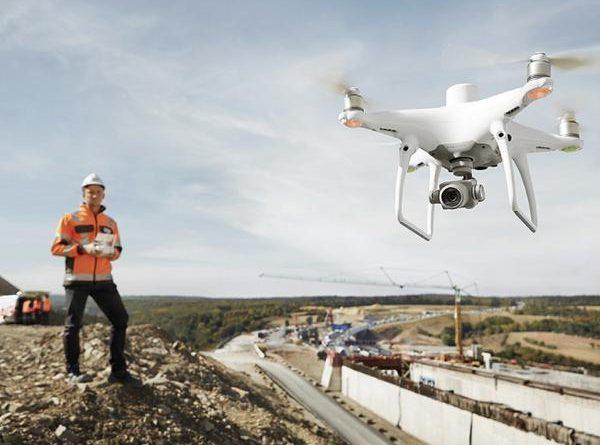 drones pour l'inspection des constructions